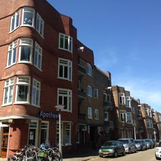 Today I went to the Amstelkade Area for a long walk and took hundreds of pictures of Amsterdam Style Buildings and details