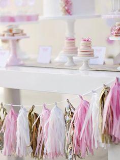 Sparkling Garland - DIY Wedding Decor Anyone Can Make on HGTV