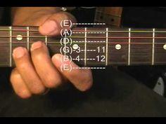 Jimi Hendrix Style Guitar Sounds #2 Lesson Chord Swell EricBlackmonMusic