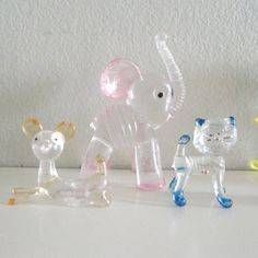 Vintage Lucite Kitty Cat