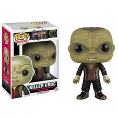 This is a Funko Suicide Squad POP Killer Croc Vinyl Figure that's produced by the nice folks over at Funko. It's great to see a DC character like Killer Croc in Funko POP Vinyl style! Killer Croc look
