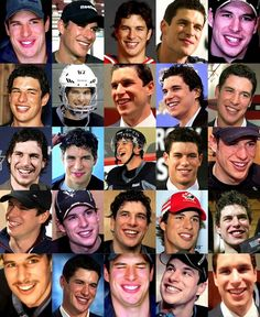 Many Faces of Sidney Crosby Pittsburgh Sports, Pittsburgh Penguins Hockey, Pitt Penguins, Lets Go Pens, Penguin Love, Sidney Crosby, Ice Hockey, Hockey Games, How Big Is Baby