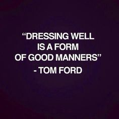 Dress to make yourself happy.