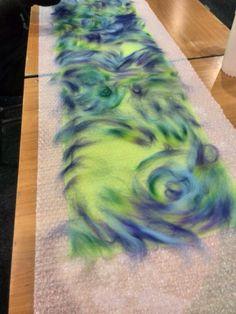 Chiffonzijde met merinowol sjaal www.bodyflower.nl