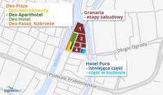 Deo Plaza powstaje na działce o powierzchni 0,7 hektara. W latach 90. miasto sprzedało ją firmie Genesis Hotels, z której grunt trafił do WSC Investment, potem - za długi - do Stołecznego Przedsiębiorstwa Handlu Wewnętrznego. Od niego z kolei za 17 mln zł odkupiły ją grupy deweloperskie z Hiszpanii - Martinsa i Labaro. Ostatecznie teren trafił do Zbigniewa Nowaka, biznesmena z Pomorza, który doprowadził do rozpoczęcia oczekiwanej przez lata inwestycji.