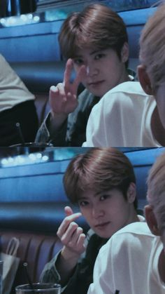 """"""" He make a gesture from far away bcs of your friends line up. """"i love you"""" he whisper Nct 127, K Pop, Valentines For Boys, Jung Yoon, Jung Jaehyun, Jaehyun Nct, Lee Taeyong, Kpop Groups, Boyfriend Material"""