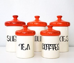 Vintage Kitchen Jars.