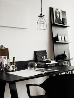 work space for men? it shows masculinity.