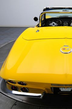 Undeniably cool Corvette Sting Ray convertible. A perfect addition for #TopDownTuesday #spon