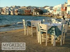 Shirley Valentine restaurant Mykonos, Greece Mykonos Island, Mykonos Greece, Shirley Valentine, Films, Movies, Holiday Travel, Daydream, Make Me Smile, Wander