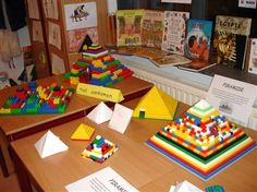 Chn make pyramids from legos Legos, Birthday Party Venues, 6th Grade Social Studies, Lego Club, Human Body Systems, 17th Century Art, Organized Mom, Book Girl, Lego Duplo