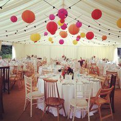 Lovely Festival themed wedding. #wedding #festival #party