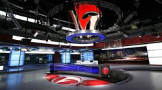ANHUI TELEVISION - ANHUI - News Sets Set Design - 1