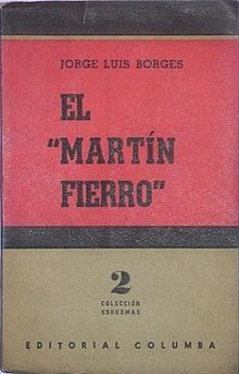 borges on martin fierro