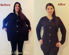Tutorial: How to turn a large knit cardigan into a smaller one (and fix snags in knit sweaters!)