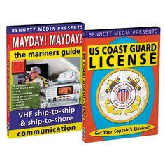 Bennett DVD - Coast Guard License Tips & VHS Made Easy - https://www.boatpartsforless.com/shop/bennett-dvd-coast-guard-license-tips-vhs-made-easy/