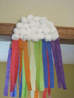 Everything Except The Grill: St. Patrick's Day Rainbow & Cloud