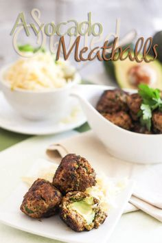 Avocado Stuffed Meatballs   by Sonia! The Healthy Foodie  #21dsd #snack #fingerfood