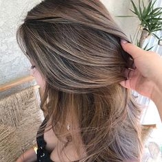 Bomb😍 Redken 7NA+7NB #Redken #Redken7NA #Redken7NB Balayage Asian Hair, Bronde Hair, About Hair, Color Theory, Cut And Color, Color Inspiration, Hair Makeup, Hair Cuts, Hair Color