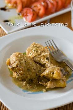 Pollo a la granaína by Alicia {back}, via Flickr