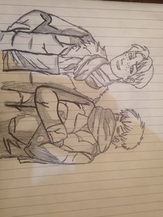 My drawling of Marco x Jean <3