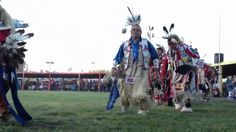 2012 Oglala Nation Pow Wow Evening Grand Entry Part 1