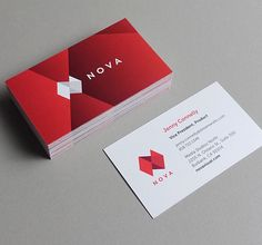 Branding: NOVA - Business Card  #branding #visualidentity #businesscard #visitingcard #graphicdesign