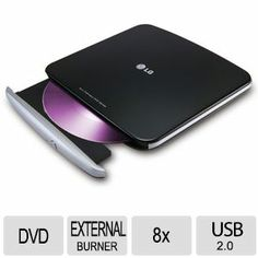 LG GP40NB40 Portable DVD Rewriter – $29.99  Free Shipping
