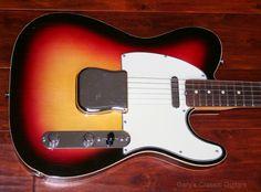 Rare Double bound 1964 Fender Custom Telecaster http://www.garysguitars.com/catalog/1964-fender-custom-telecaster