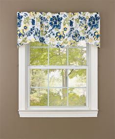 Buttercup Lined Wave Curtain Valance 58 x 18