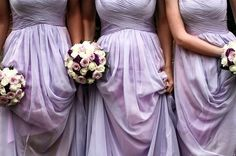 {Trendy Bridesmaid Styles} Lilac Bridesmaid Dresses for Romantic Purple Weddings | VPonsale Wedding Custom Dresses