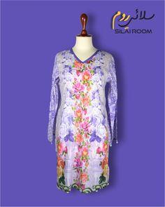 Shirt with Digital Print Full sleeves Fabric: Lawn Full Sleeves, Dresses With Sleeves, Kurti, Lawn, Digital Prints, Purple, Long Sleeve, Fabric, Summer