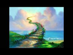 Stairway To Heaven - Led Zeppelin  Yes, there are two paths you can go by, but in the long run  There's still time to change the road you're on
