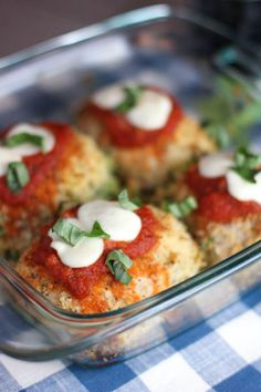 Chicken Rollatini - Stuffed with Ricotta and Spinach..Baked chicken breast cutlets stuffed with ricotta and spinach, rolled in Panko crumbs and topped with marinara and fresh mozzarella…now what could be bad about that? You can make 4 or 40. Great for a small family or a large crowd!