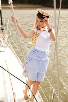 Seven Seas in Seersucker Dress | Set Sale Collection by Shabby Apple