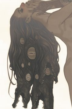 shoggoth hair. Don't know what this is from but it's cool