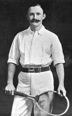 Arthur William Charles Wentworth Gore (1868 – 1928) was a former World No. 1 male tennis player from Great Britain. He is best known for his two Gold medals at the London Olympics in 1908 winning the Men's Indoor Singles and the Men's Indoor Doubles (with Herbert Barrett). He also competed at the 1912 Summer Olympics. His Wimbledon win at age 41 in 1909 makes him the oldest player to date to win the Wimbledon Men's Singles final.