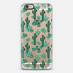 Cactus - Transparent Hipster Trendy Print by Andrea Lauren | @casetify