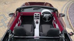 Flocked MX5 Interior - Flocked by The Flock Shop, Ron Fuller