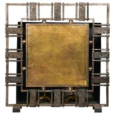 Unique Oversized Fire Screen by Werner Hendricks 1938 | From a unique collection of antique and modern screens at http://www.1stdibs.com/furniture/more-furniture-collectibles/screens/
