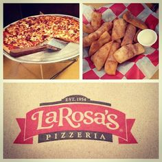 Why eat gross, old chain pizza when you can eat Cincinnati-grown La Rosa's? Particularly delicious when consumed inside of King's Island.