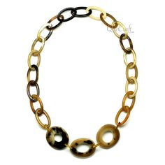 QueCraft Horn Chain Necklace - Q10094