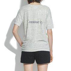 Comme ci Comme ça Banded Tee - short sleeve - Women's TEES & MORE - Madewell
