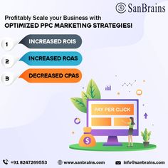 The PPC services in Hyderabad of Sanbrains allow clients to get a crucial edge over competitors through leading PPC services. Teaming up with one of the best PPC companies in Hyderabad could boost in high traffic, ROI, and many other benefits. #ppcservicesinhyderabad #ppccompaniesinhyderabad Advertising Methods, Social Advertising, Advertising Services, Online Advertising, Social Media Marketing Companies, Marketing Approach, Marketing Strategies, Digital Marketing Plan