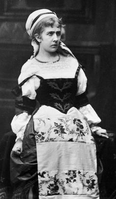 Betty Hennings as Nora in A Doll's House, 1879
