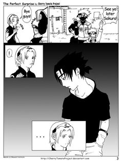 Sasusaku doujinshi - the perfect surprise 3
