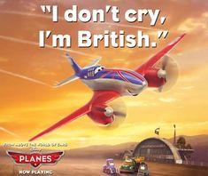 "#BestofPlanes: ""I don't cry, I'm British!"""