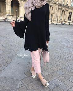 Hijab Casual, Hijab Outfit, Modest Fashion Hijab, Modern Hijab Fashion, Islamic Fashion, Muslim Fashion, Modest Outfits, Fashion Outfits, Hijab Mode Inspiration