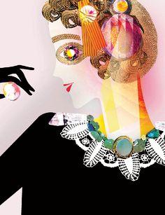 Amelia's Compendium of Fashion - Lesley Barnes Illustration