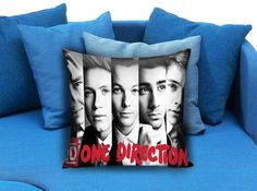 1D One Direction Pillow Case #pillow #case #pillowcase #custompillow #custom